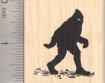 Bigfoot Rubber Stamp, Sasquatch, Yeti, Folklore, Big Foot G21003 WM