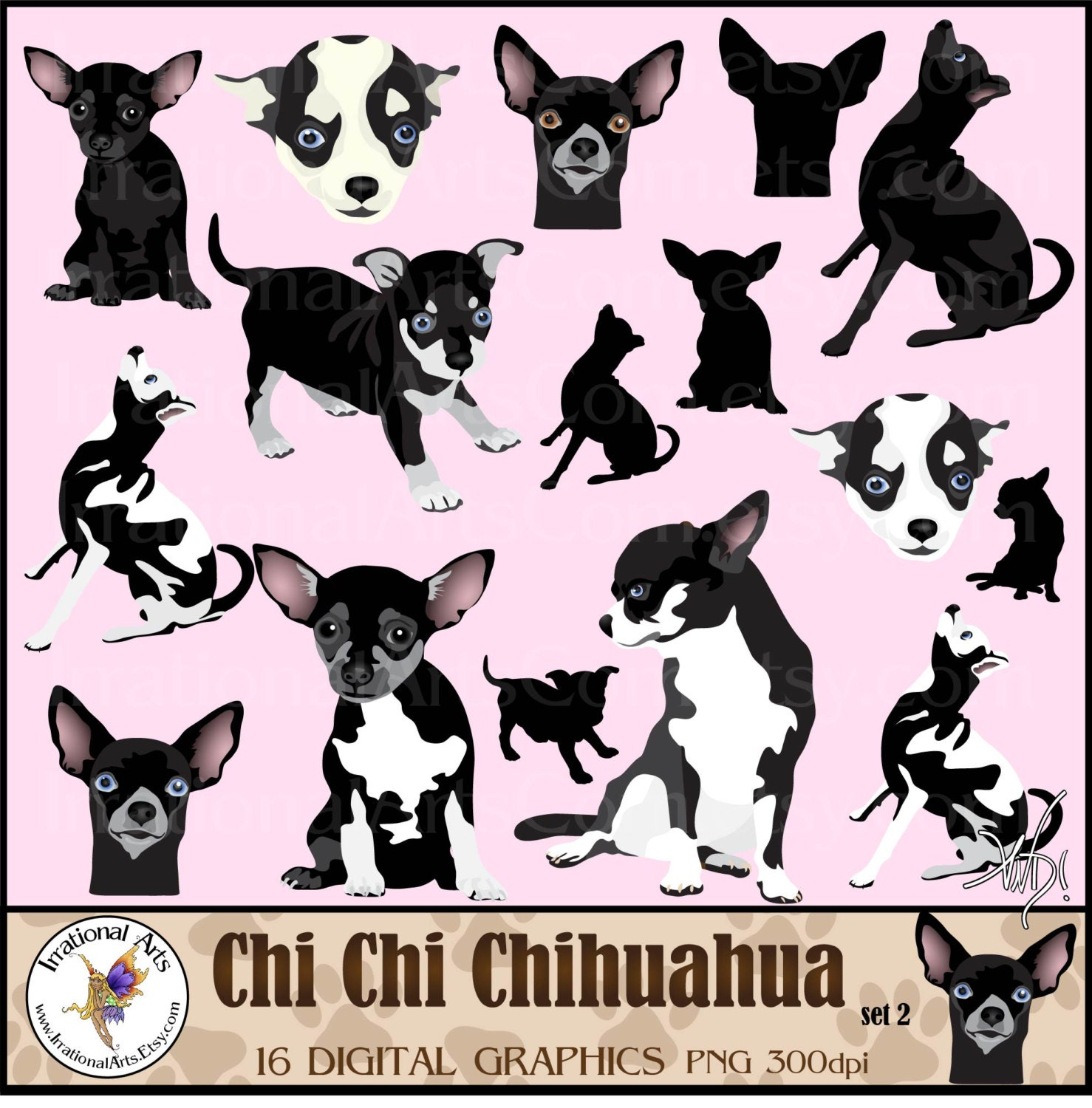 chihuahua dog clipart - photo #41