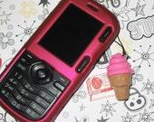 Strawberry Ice Cream Cone Phone/DS Charm