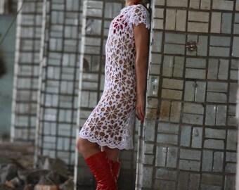 MADE TO ORDER  summer crochet dress  RI93