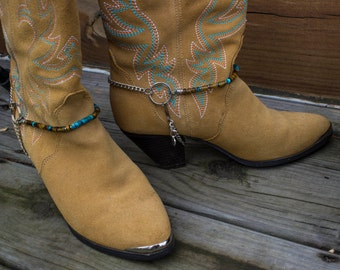 Western Bootchain Anklet Boot Jewelry