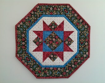 Quilted Star Table Topper (EDTT30)