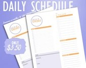 PDF PRINTABLE Daily Schedule
