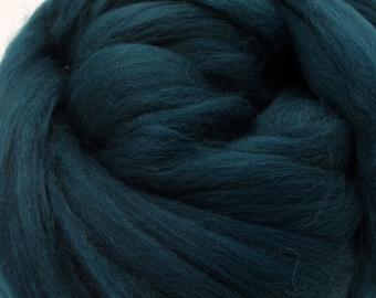 4 oz. Merino Wool Top - Mallard - Ships Free