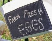 Farm Fresh Eggs Large Market Tote