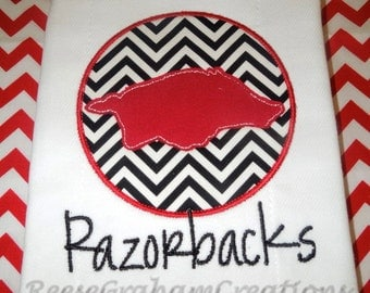 Razorback Burp Cloth