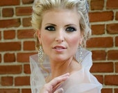 Custom Couture Shoulder Demi Bridal Wrap-Made to Order-CRBoggs Designs Original