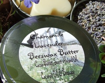 CHAMOMILE LAVENDER BEESWAX Butter