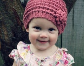 Download Now - CROCHET PATTERN - Emma Cloche - Baby to Adult - Pattern PDF