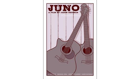Juno 12x18 inches movie poster
