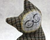 Cat Plush Folk Wool - North Island Cat