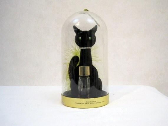 Max Factor Perfume Black Cat