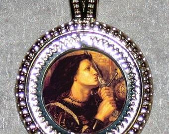 Saint Joan of Arc Pendant