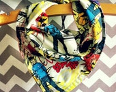 Boys reversible neckerchief scarf