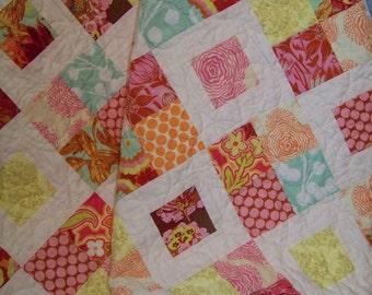 Modern Lap Quilt/Throw - Amy Butler, Joel Dewberry & Anna Maria Horner Fabrics