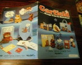 Plastic Canvas Patterns Garfield... Keeps you in Stitches Millcraft GRB-1 Plastic Canvas Pattern Leaflet