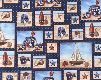 Beach Day Cotton Fabric BTY