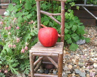 Miniature Rustic Chair