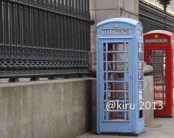 Phone Boxes Photograph