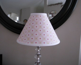 Lamp shade Pink Daisy