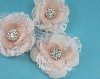 Bridal Hair accessory, Small Blush Pink Bobby pin Set I214, wedding hair accessories set