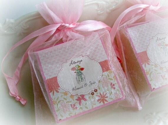 wedding shower favors mason jar favors party favors shabby rh etsy com shabby chic party favors shabby chic supplies