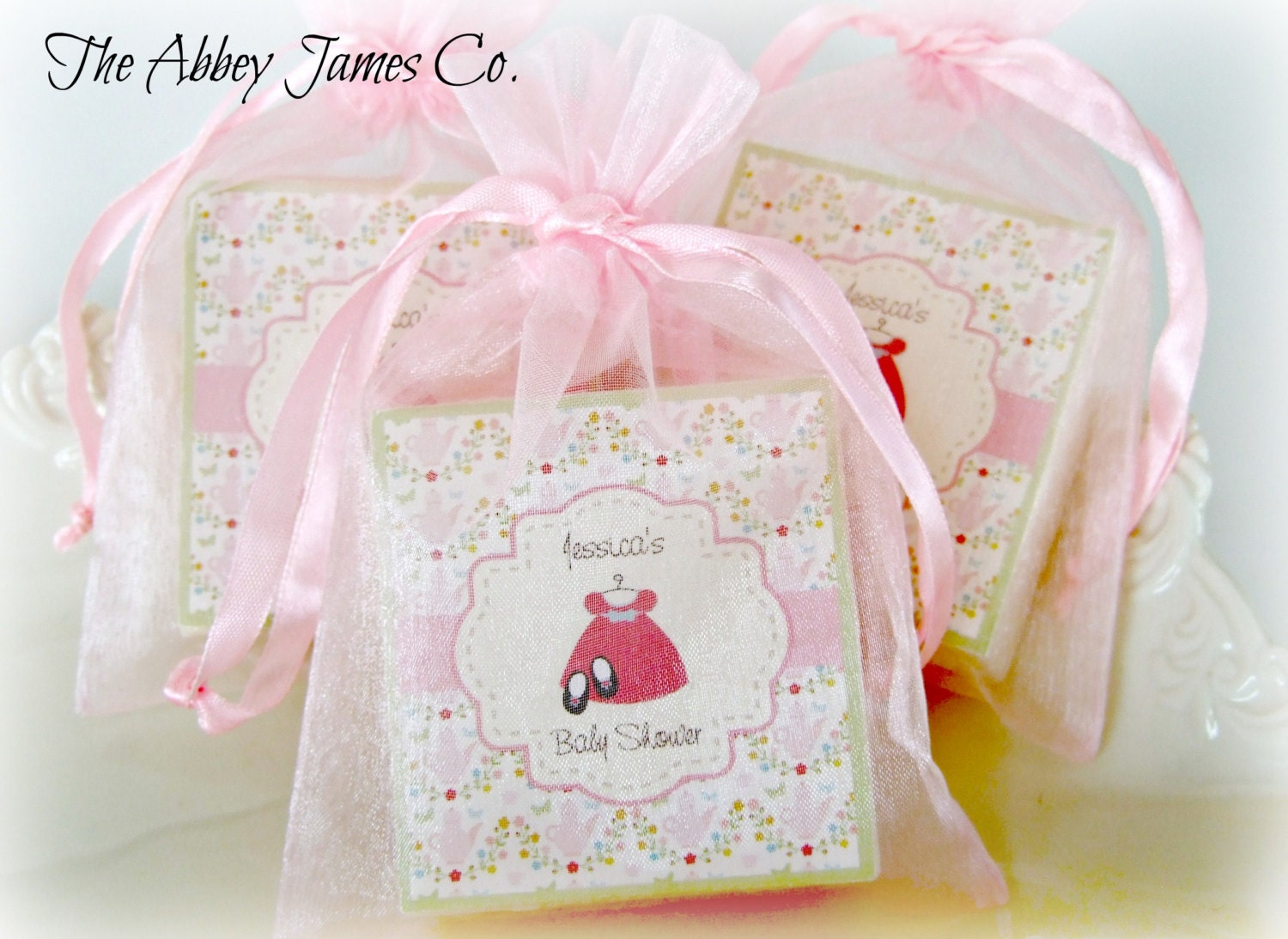 Popular items for baby girl favors on Etsy