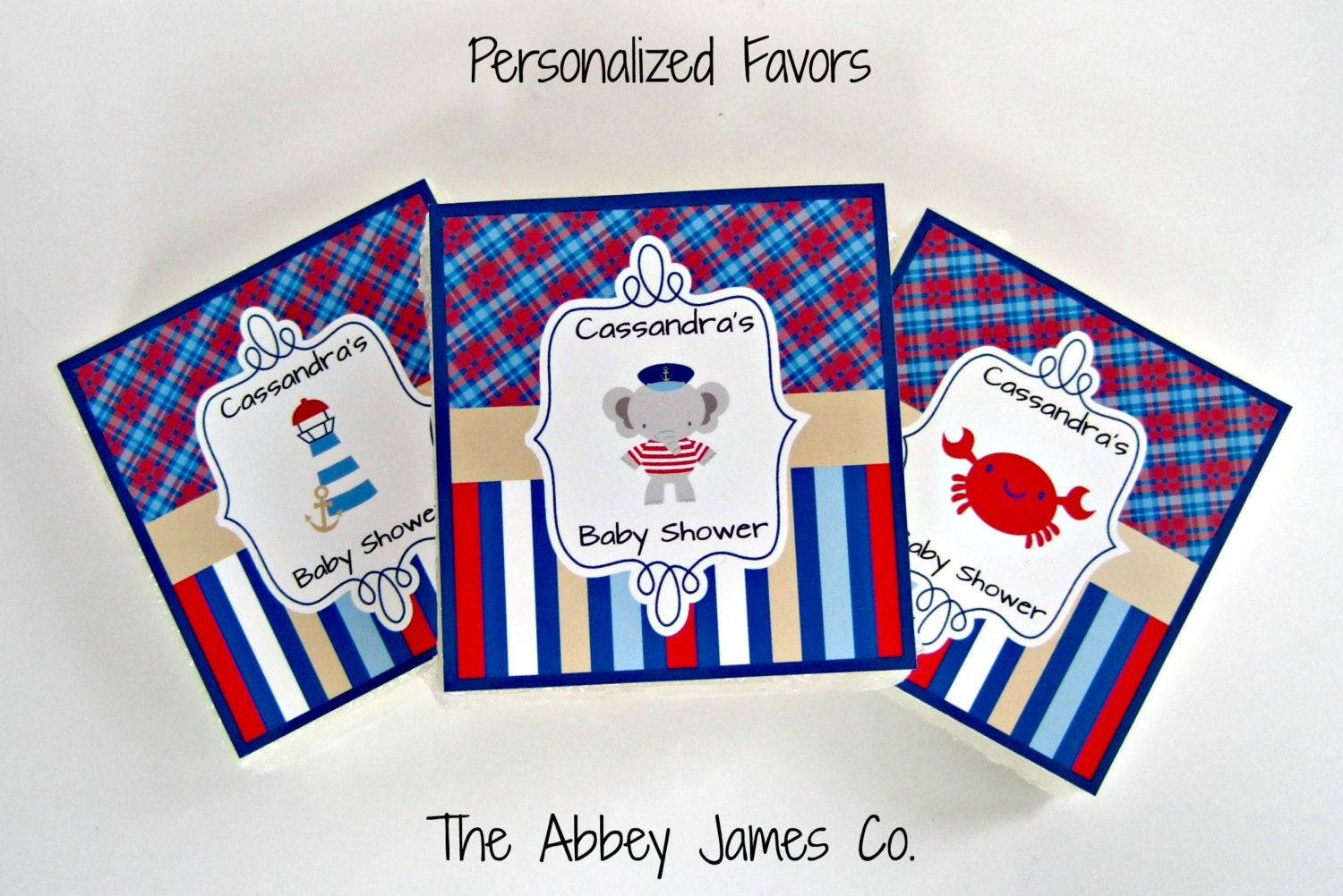nautical baby shower favors nautical party favors soap