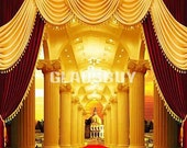 Gorgeous architecture 10ft x 10ft Wedding Backdrop Computer Printed Photography Background zjz-474