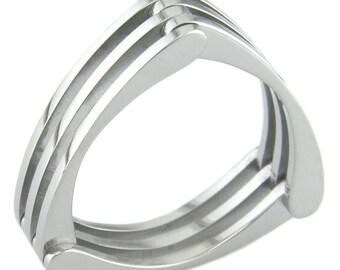 Truss Titanium Ring