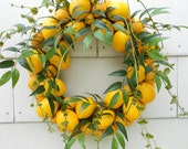 Lemon To Lemon Wreath
