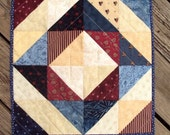 Americana Quilted Table Topper