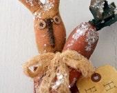 Primitive Bunny stocking