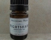 Nightshade - Perfume Oil  - Bulgarian Lavender, Madagascar Vanilla, Chocolate