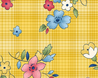 Clearance FABRIC LITTLE DARLINGS Childs Play floral cordinate  1/2 Yard