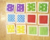 Memory game -  matching game - kids gifts - educational toy - busy bags - preschool - learning activity - travel toys for toddlers #3840