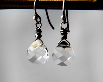 Crystal Earrings, Drop Earrings, Crystal Jewelry, Swarovski Crystal, Dangle Earrings, Wedding Jewelry, Bridal Earrings, PoleStar