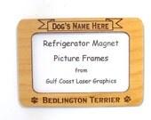 Bedlington Terrier Dog Magnet Picture Frame