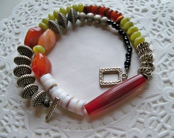 AFRICAN TRIBAL Choker/Tribal Necklace/African Necklace