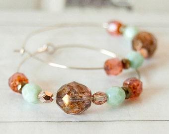 Apollo -  hoop earrings