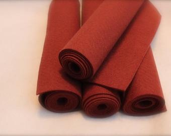 Mini Roll of Oakwood Wool Blend Felt
