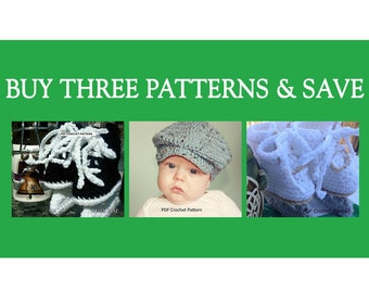 Instant Download - Buy Donegal Cap - Hockey Skates - Figure Skates Crochet Patterns together and Save