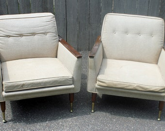 Design your Own Vintage Danish Retro lounge chairs - Custom Order