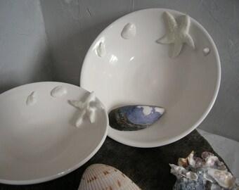 Two Nautical Porcelain Serving Bowls