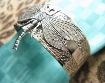 Dragonfly Bracelet Dragonfly Cuff bracelet silver Gorgeous dragonflys Top Selling Shop Top Seller