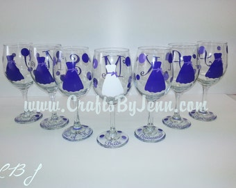 7 Personalized Wedding Glasses