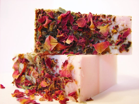 SALE SOAP- Perfect Rose Soap - Vegan Soap - Handmade Soap- Soap Gift