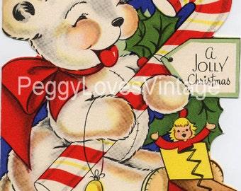 Vintage Christmas Greeting Card Images on CD Vol 11