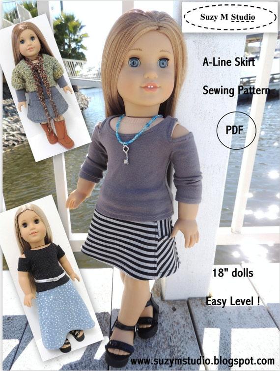 A-Line Skirt AGD - PDF Pattern
