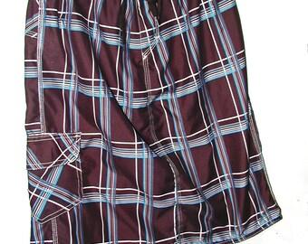 Plaid Board Skirt from Trunks Sz L Teen